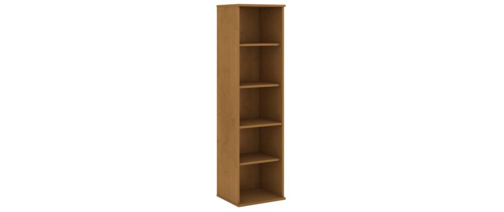 "Bookcase Narrow 66"" Natural Cherry"