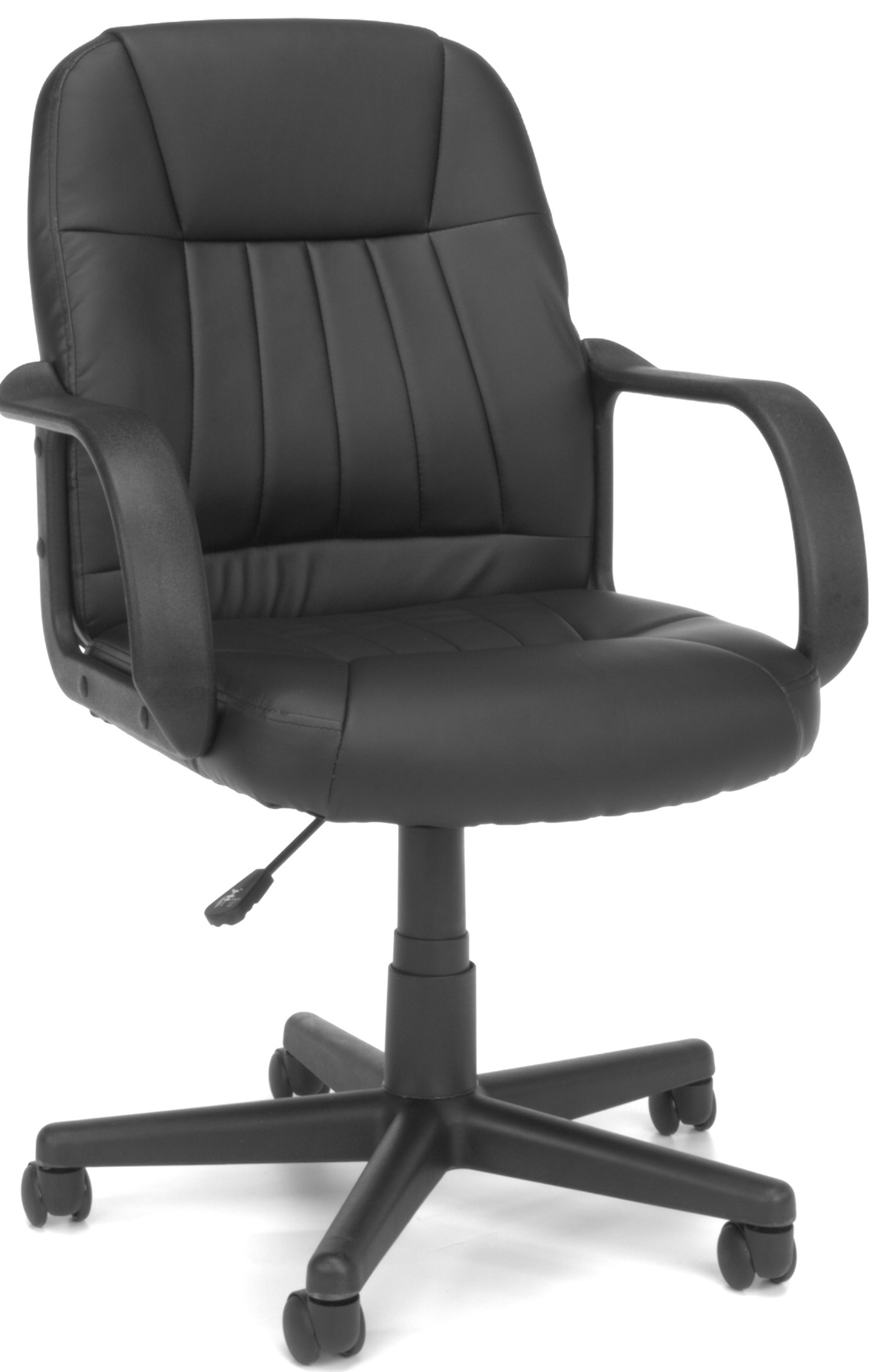 Essentials Collection Executive Office Chair Black