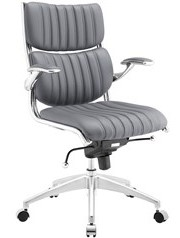 Escape Mid Back Office Chair Gray