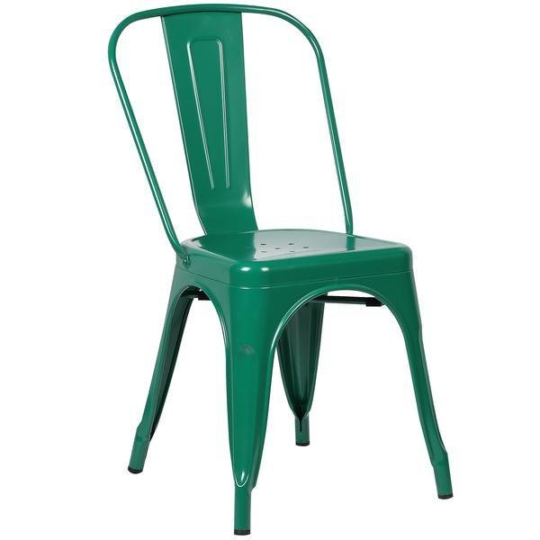 Holsak Dining Chair Dark Green (Set Of 2)