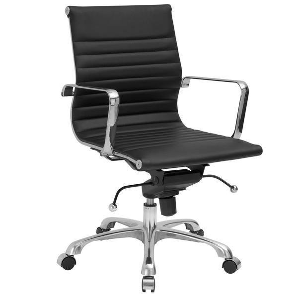 Acinola Mid Back Office Chair Black