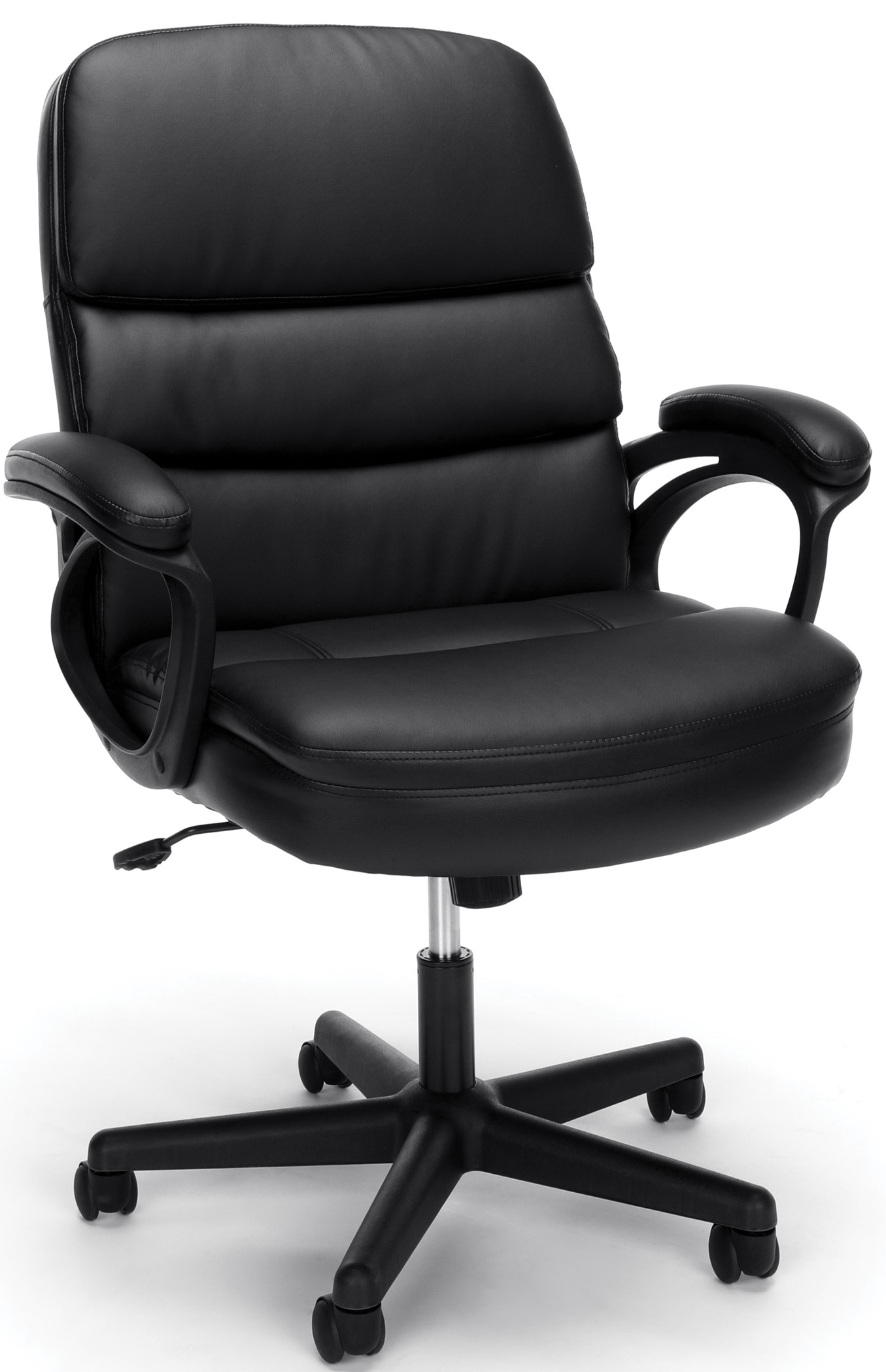 Essentials Executive Manager's Chair with Arms Black