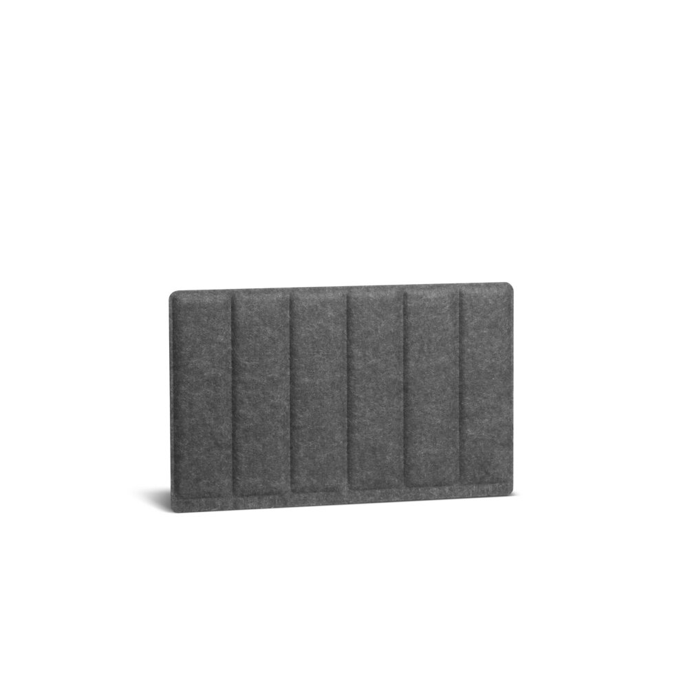 Privacy Panel, Side To Side Pinnable Dark Gray