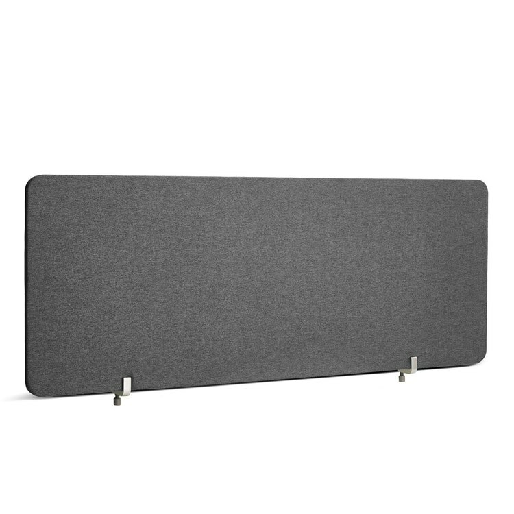 """Fabric Privacy Panel, Face to Face, 45"""" Gray"""