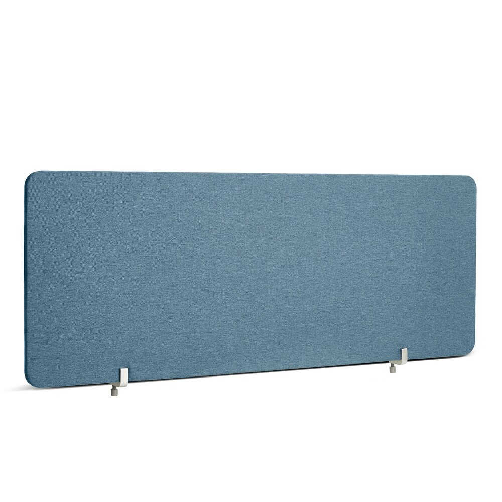 """Fabric Privacy Panel, Face to Face, 45"""" Slate Blue"""