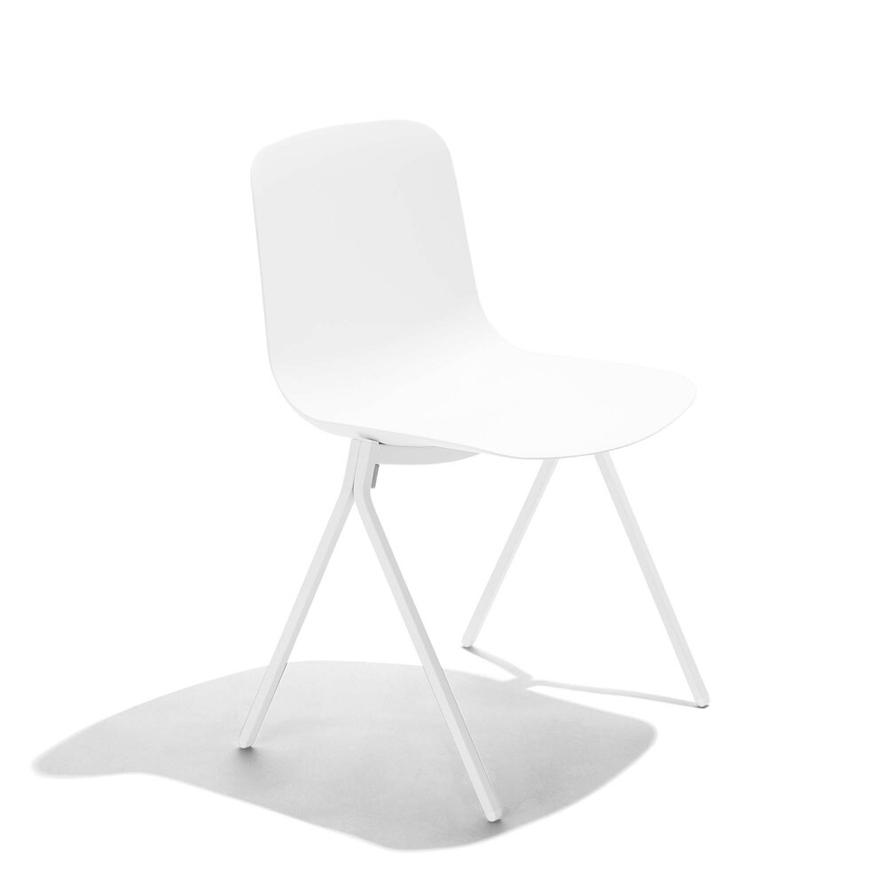 Key Chair, Set of 2 White