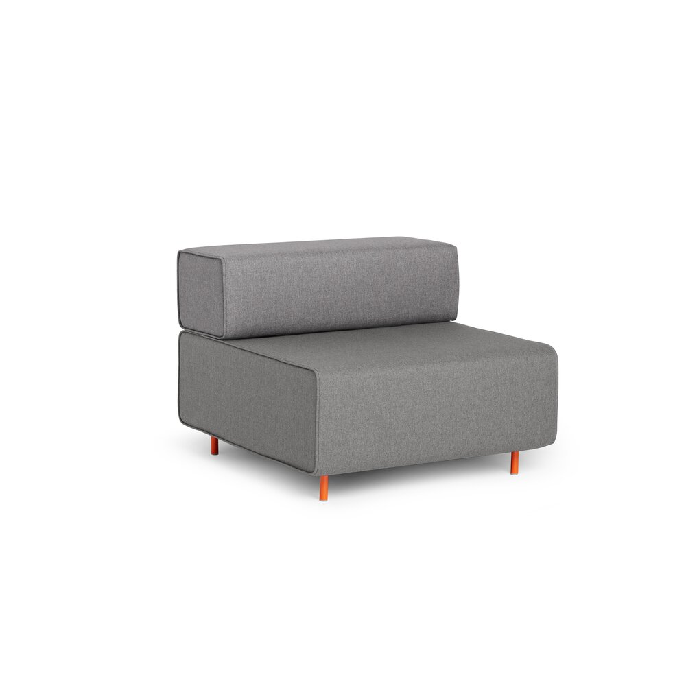 Block Party Lounge Chair Gray