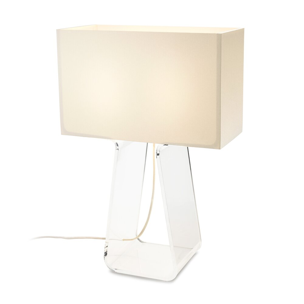 Tube Top Lamp Clear