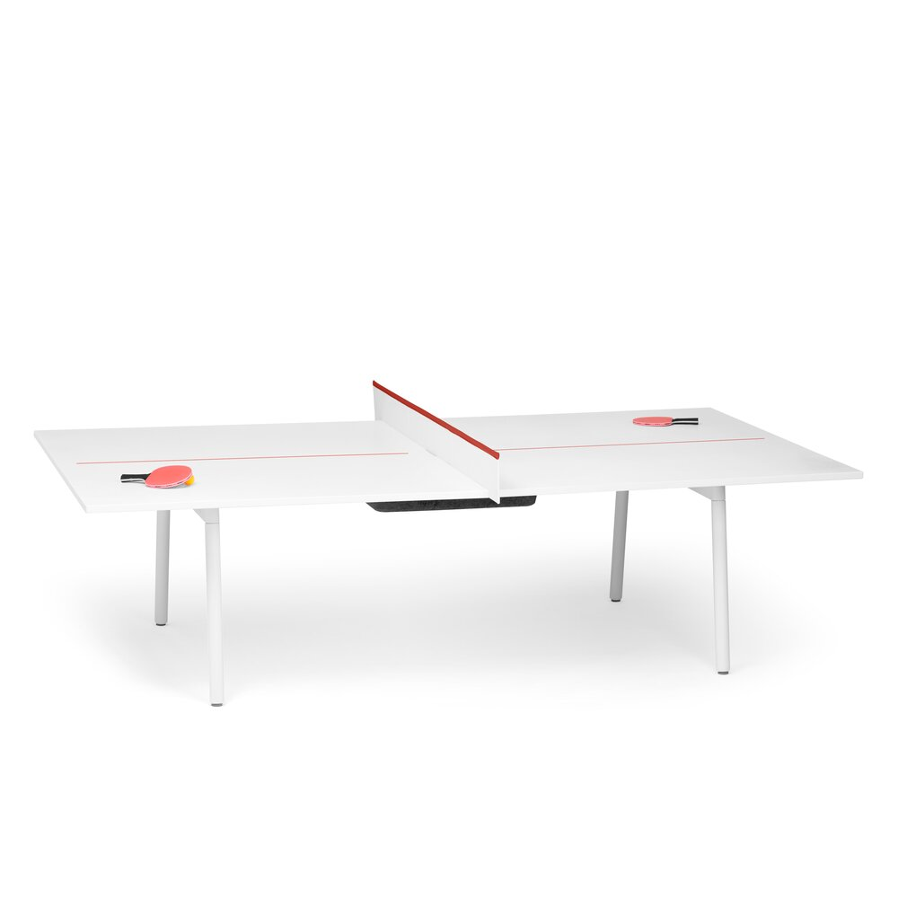 White + Brick Series A Ping-Pong Conference Table