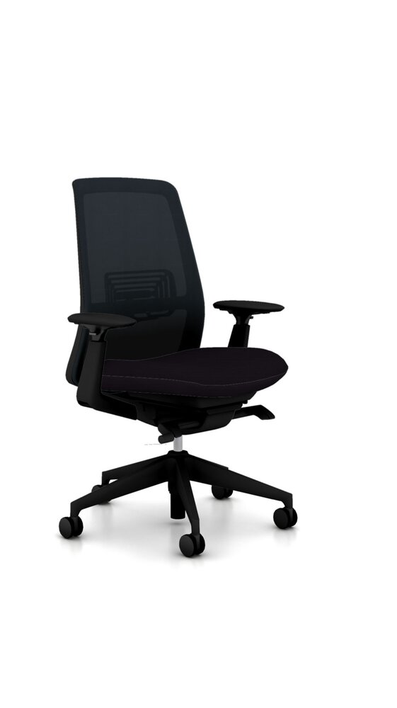 Soji Task Chair Black