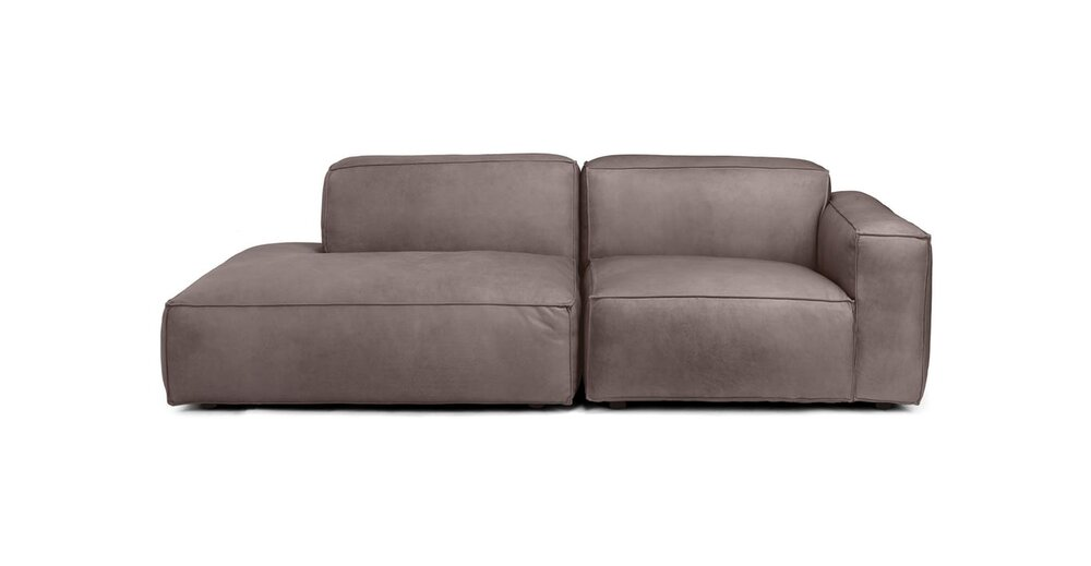 Solae Right Arm Sofa Canyon Charcoal