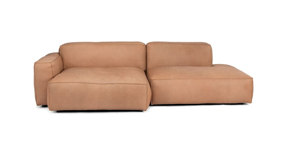 Solae Left Sectional Canyon Tan