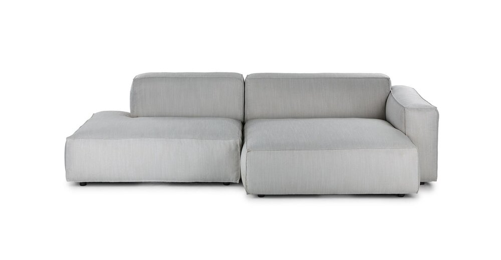 Solae Right Sectional Hush Gray